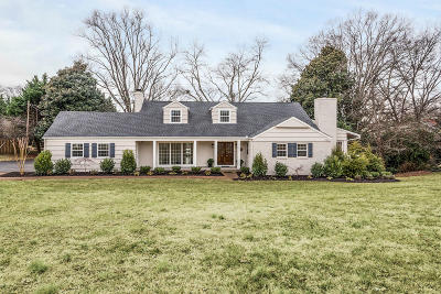 Single Family Home Sold: 7112 Cheshire Drive