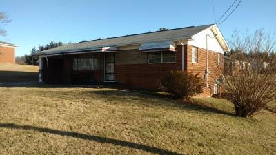 Morristown Single Family Home For Sale: 660 Kidwell Ridge Rd