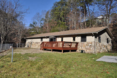 Pigeon Forge Single Family Home For Sale: 2509 Ridge Rd