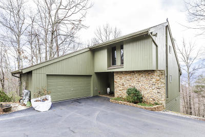 Gatlinburg Single Family Home For Sale: 1215 Wiley Oakley Drive