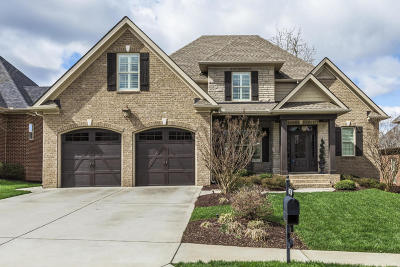 Knoxville Single Family Home For Sale: 1201 Whisper Trace Lane