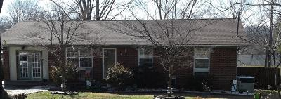 Maryville Single Family Home For Sale: 609 Ardmore Circle