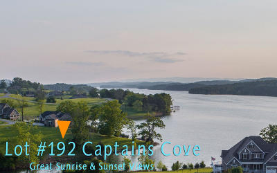 Union County Residential Lots & Land For Sale: Lot 192 Captains Cove