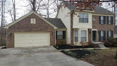 Knoxville Single Family Home For Sale: 9125 Colchester Ridge Rd