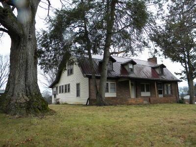 Jefferson City Single Family Home For Sale: 2131 Fraker Rd