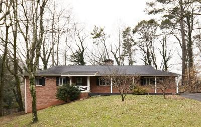 Knoxville Single Family Home For Sale: 2509 Craghead Lane