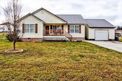 Caryville, Jacksboro, Lafollette, Rocky Top, Speedwell, Maynardville, Andersonville Single Family Home For Sale: 442 Clover Circle