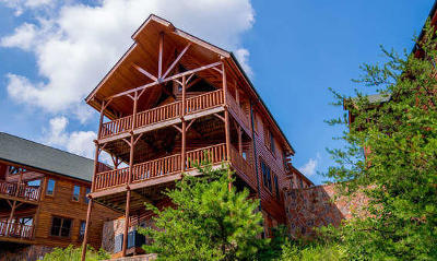 Sevierville Single Family Home For Sale: 2214 Towering Hemlock Drive