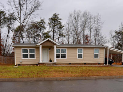 Knoxville Single Family Home For Sale: 321 Contentment Lane