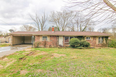 Knoxville Single Family Home For Sale: 1717 Wandering Rd