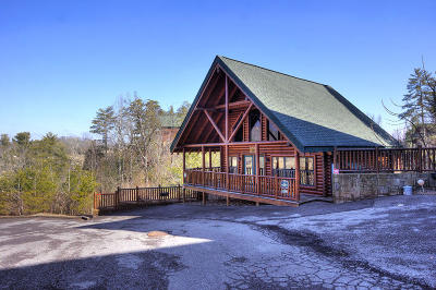 Pigeon Forge Single Family Home For Sale: 1719 Summit Way