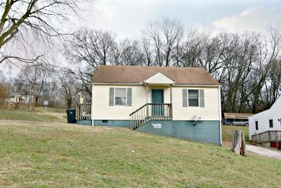 Knoxville TN Single Family Home For Sale: $44,700