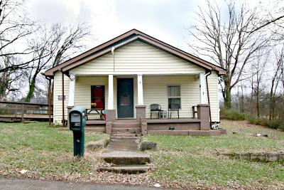 Knoxville TN Single Family Home For Sale: $55,900