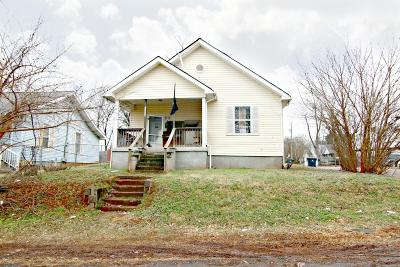 Knoxville TN Single Family Home For Sale: $47,400