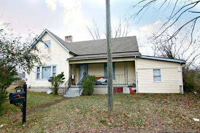 Knoxville TN Single Family Home For Sale: $77,400