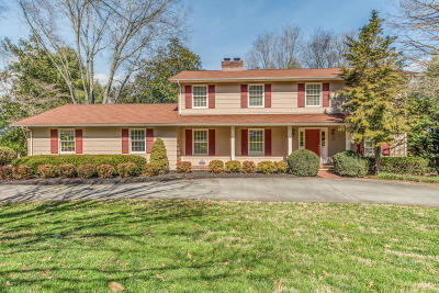 Knoxville Single Family Home For Sale: 9521 Twelve Trees Lane