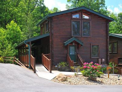 Gatlinburg Single Family Home For Sale: 753 Glory Ridge Way
