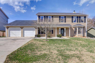 Knoxville Single Family Home For Sale: 9213 Countryway Drive