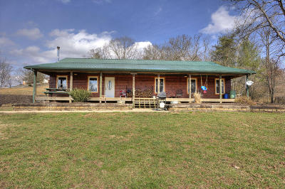 Oliver Springs Single Family Home For Sale: 710 Back Valley Rd