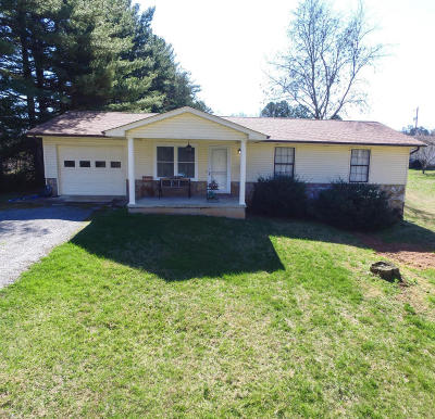 Corryton Single Family Home For Sale: 6609 Booher Rd