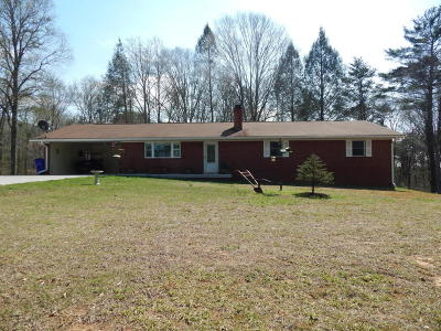 Maryville Single Family Home For Sale: 2526 Denton Hayes Rd