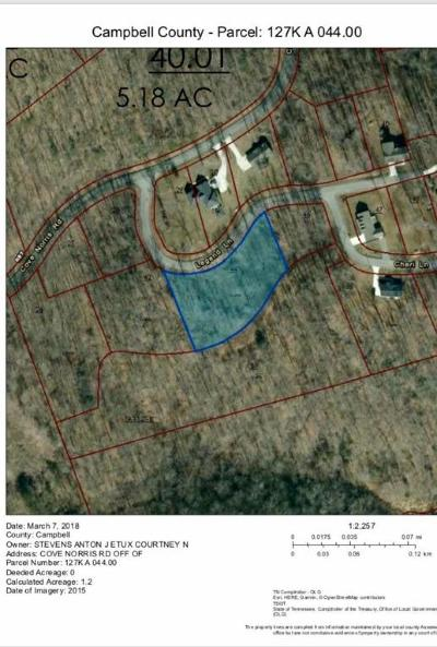 Caryville Residential Lots & Land For Sale: Cove Norris Rd