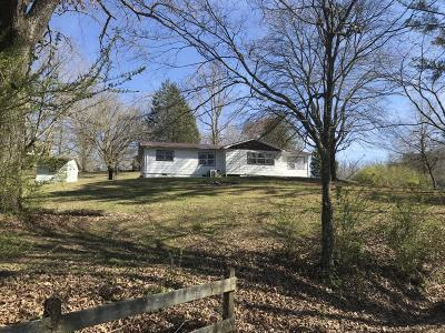 Oliver Springs TN Single Family Home For Sale: $110,000