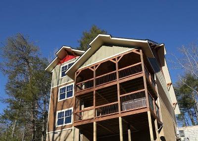Gatlinburg Single Family Home For Sale: 1206 Bianca Way
