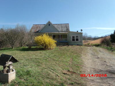 Union County Single Family Home For Sale: 855 Little Valley Rd