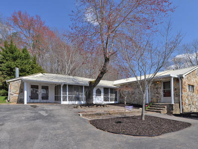 Oliver Springs Single Family Home For Sale: 1743 Fairview Rd