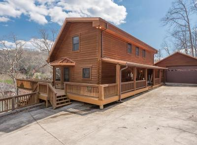 Single Family Home For Sale: 124 Delaware Point