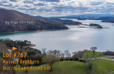 Campbell County, Anderson County, Union County, Claiborne County, Grainger County Residential Lots & Land For Sale: Lot 767 Russell Brothers Rd