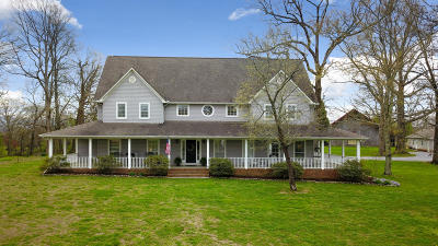 Madisonville Single Family Home For Sale: 2238 Niles Ferry Rd