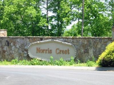 Norris Crest Residential Lots & Land For Sale: Mountain Crest