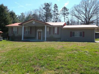 Jacksboro Single Family Home For Sale: 160 Vinsant Hollow Rd