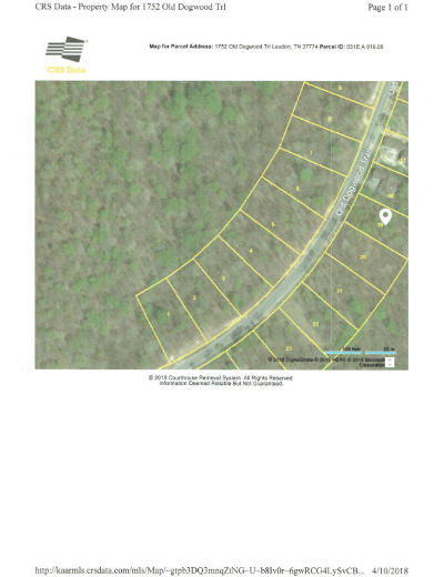 Tennessee National Residential Lots & Land For Sale: 1752 Old Dogwood Tr