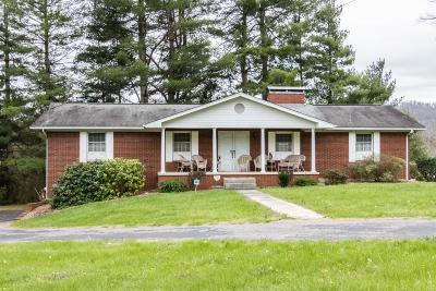 Single Family Home For Sale: 7186 Rutledge Pike