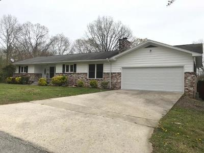 Single Family Home For Sale: 618 Crestview Drive