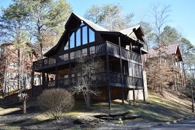 Pigeon Forge Single Family Home For Sale: 2620 Tree Top Way