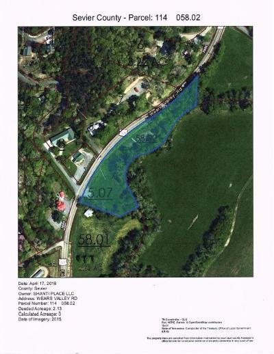 Sevierville Residential Lots & Land For Sale: 2715 Wears Valley Rd