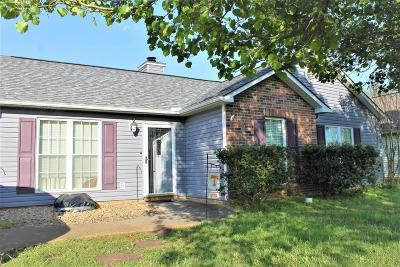 Maryville Single Family Home For Sale: 212 Lavista Drive