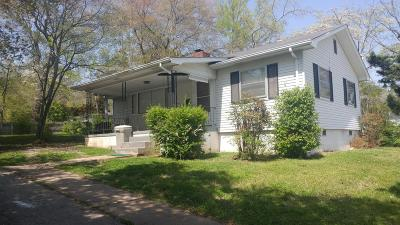 Oak Ridge Single Family Home For Sale: 102 W Farragut Rd