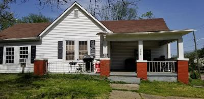Knoxville TN Single Family Home For Sale: $50,000