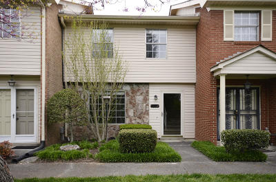 Knoxville TN Condo/Townhouse For Sale: $125,500