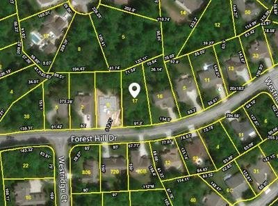 Fairfield Glade Residential Lots & Land For Sale: 146 Forest Hill Drive