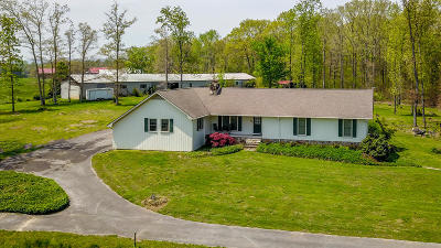 Madisonville Single Family Home For Sale: 137 Cold Stream Farm Rd