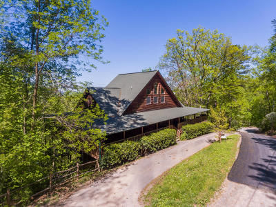 Sevierville Single Family Home For Sale: 3306 Shagbark Hickory Ridge