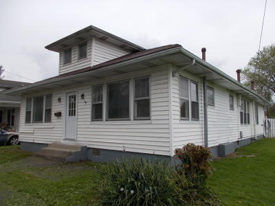 Middlesboro Single Family Home For Sale: 312 S 23rd St
