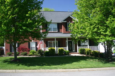 Knoxville Single Family Home For Sale: 7817 Mendonhall Estates Blvd