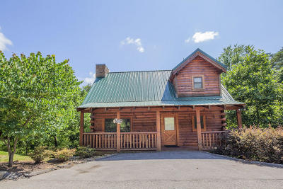 Pigeon Forge Single Family Home For Sale: 3416 Merlin Way